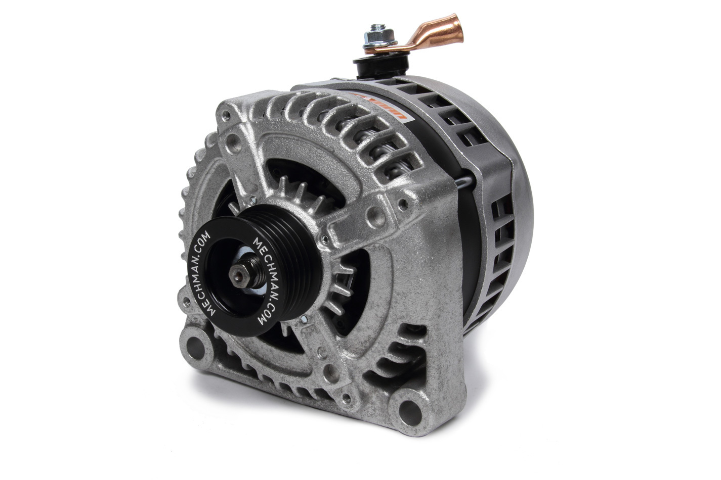 Mechman Alternators 9050320 Alternator, S-Series, 320 amp, 12V, 1-Wire, 6 Groove Serpentine, Natural, Universal, Each