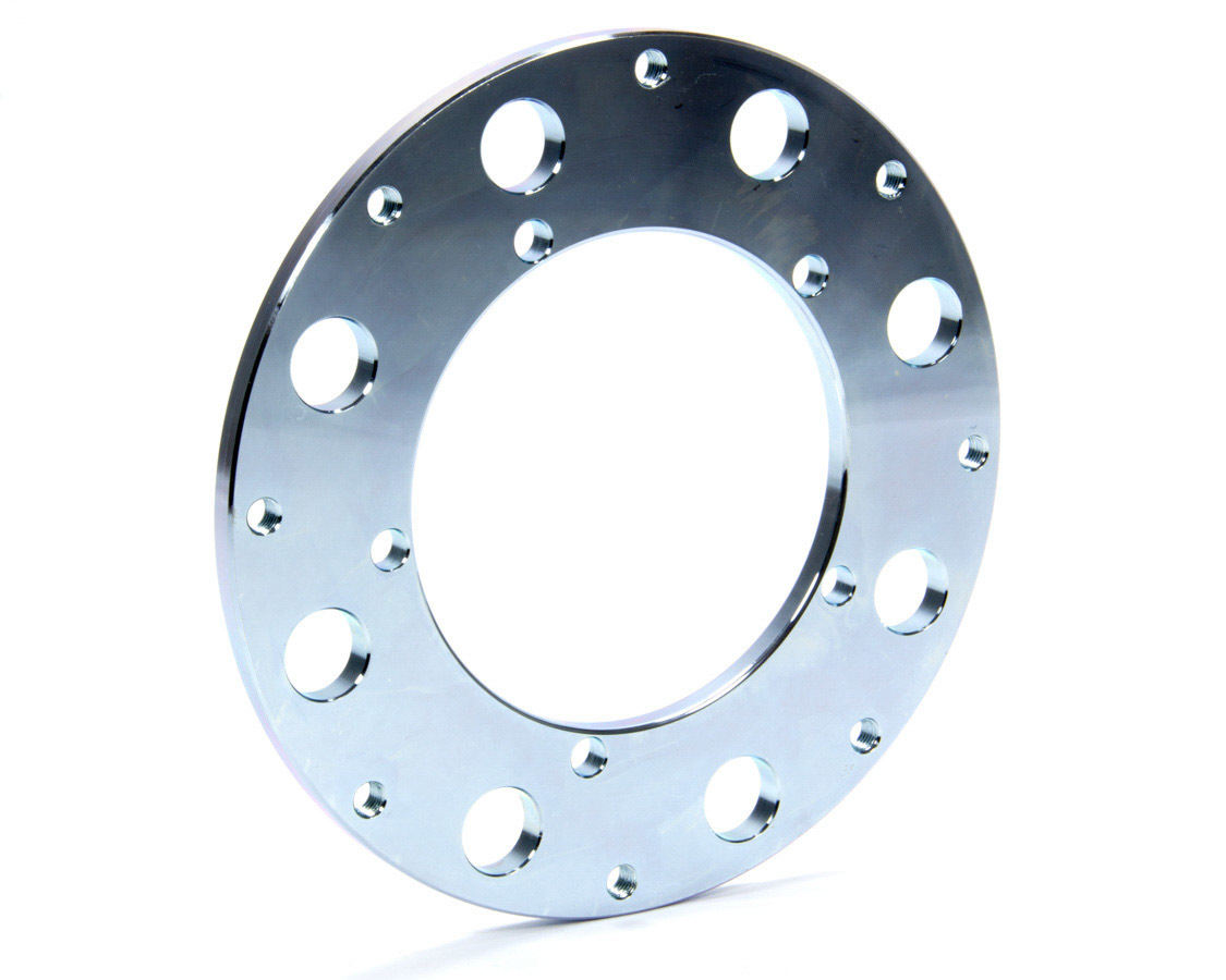 Moser Engineering 4111 Brake Rotor Adapter, 5 x 4.75 in Bolt Pattern to 8 x 7.000 in Rotor Bolt Pattern, Steel, Natural, Each