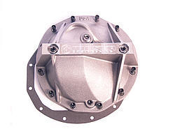 Moser Engineering 7110 Differential Cover, Performance, Gasket / Hardware Included, Aluminum, Natural, Car, GM 12-Bolt, Each