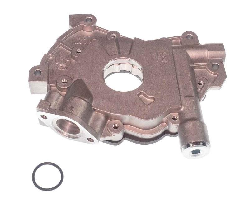Melling M360HV Oil Pump, Wet Sump, Internal, High Volume, Ford Modular, Each