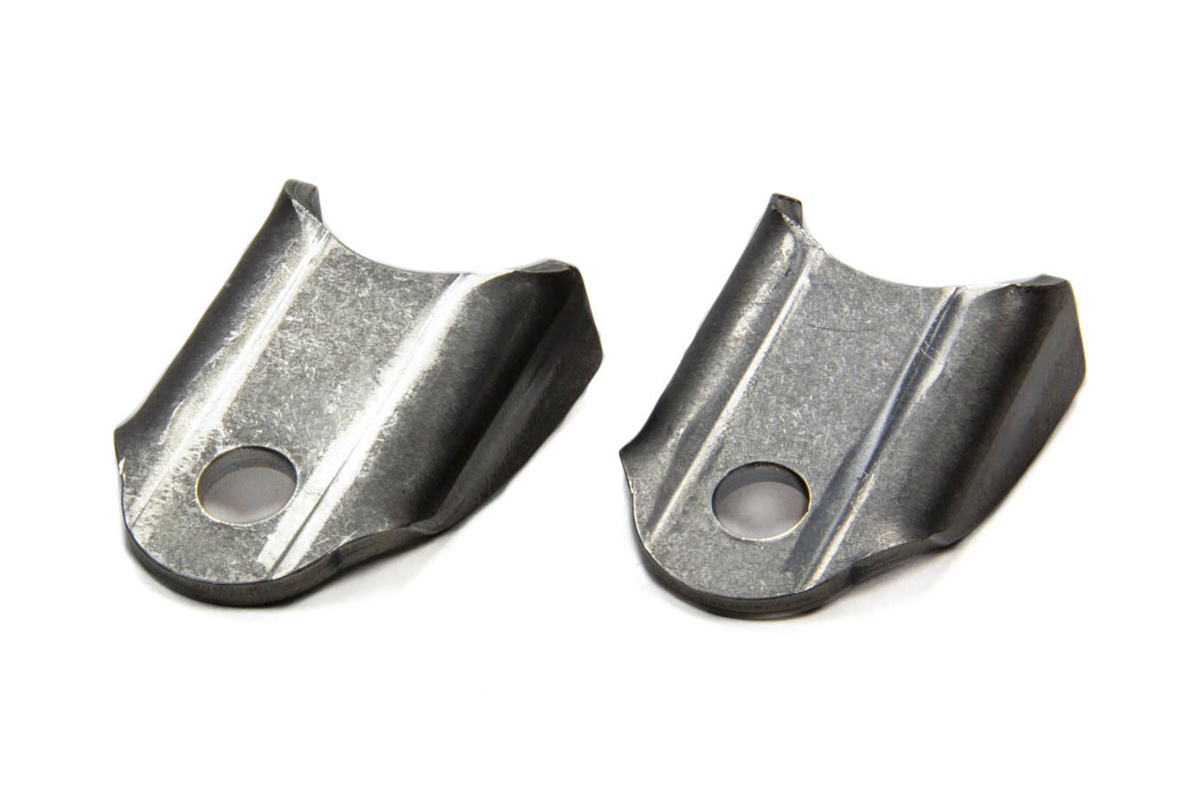 4130 Moly Chassis Tab - Bent - 3/8 Hole (2pk)
