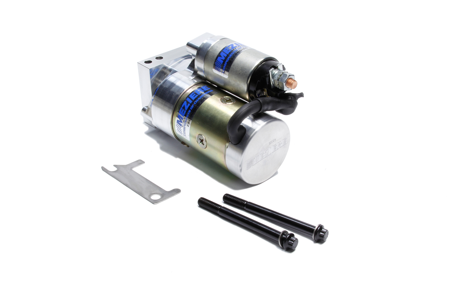 Meziere TS400DP Starter, 400 Series True Start, Gear Reduction, Adjustable Block, 168/153 Tooth Flywheel, Chevy V8, Each