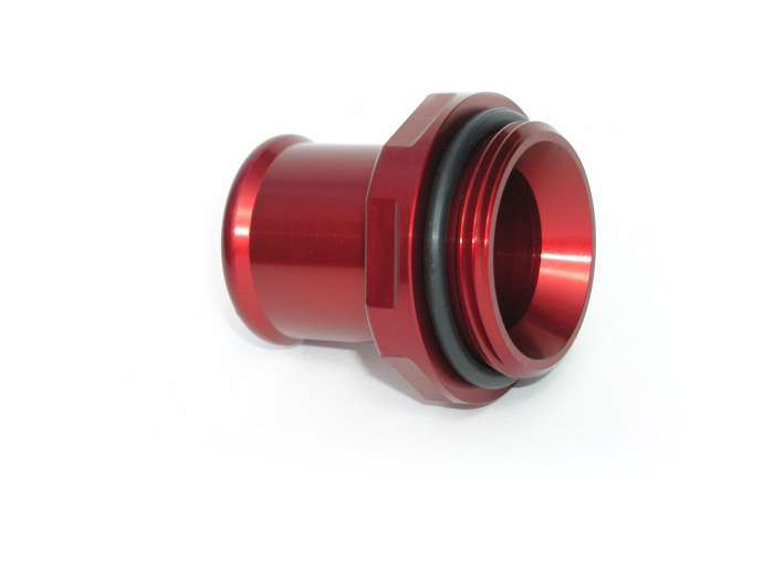 1.25in Hose Water Neck Fitting - Red