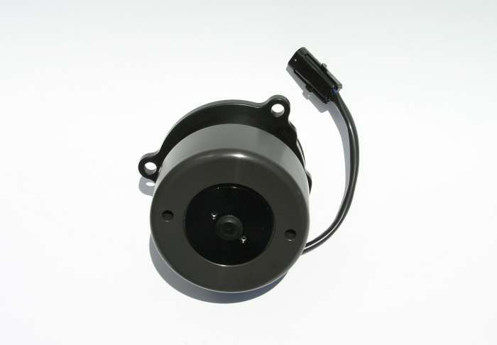 Meziere WP347S Water Pump, Electric, Street Style, Gaskets / Hardware / Wiring, Aluminum, Black Anodized, Ford Modular, Kit