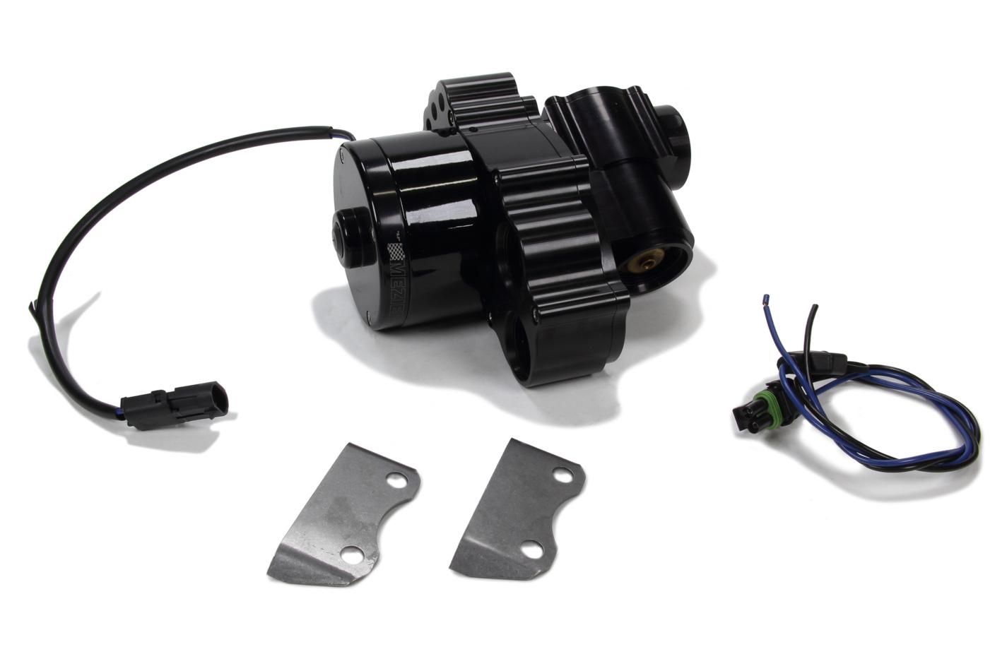 Inline Remote H/F Elect. Water Pump - Black