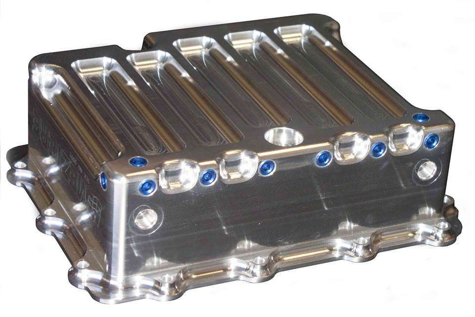 Transmission Pan - GM P/G - Aluminum