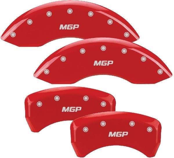 05-10 Mustang Caliper Covers Red