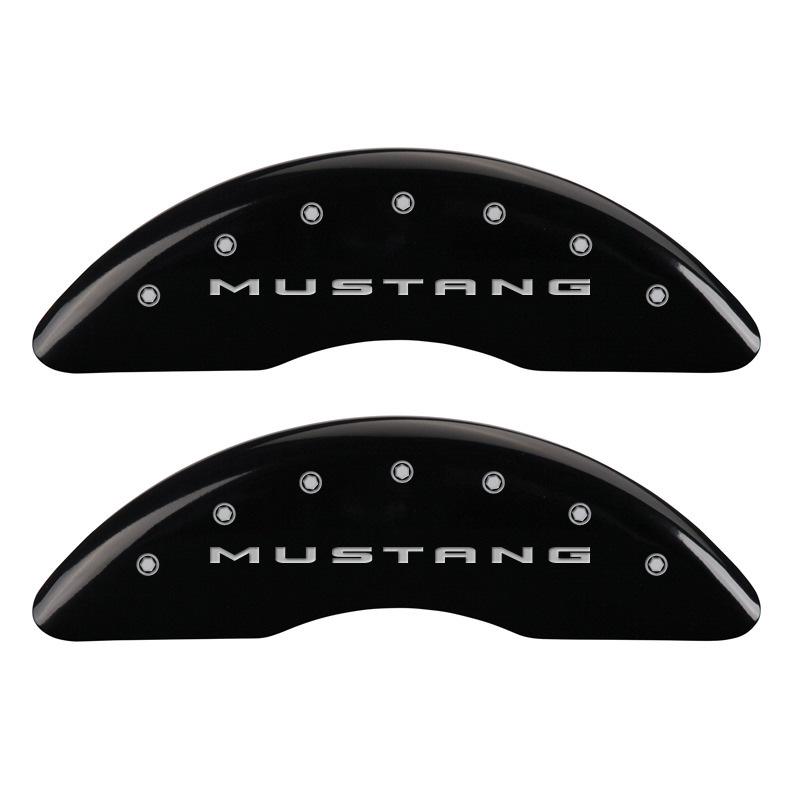 15-   Mustang Caliper Covers Black