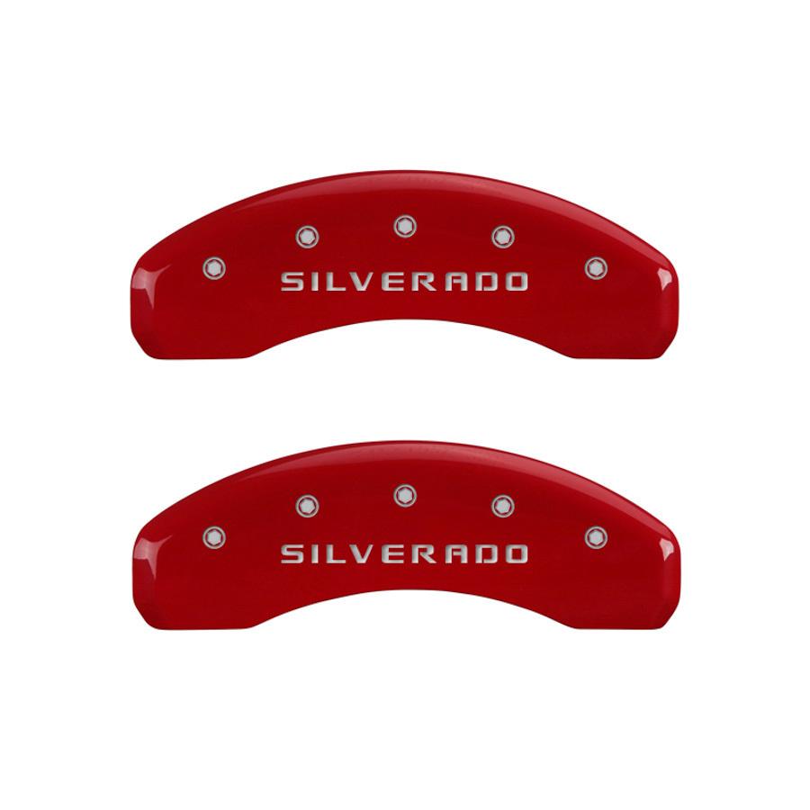 14-   Silverado 1501 Caliper Covers Red