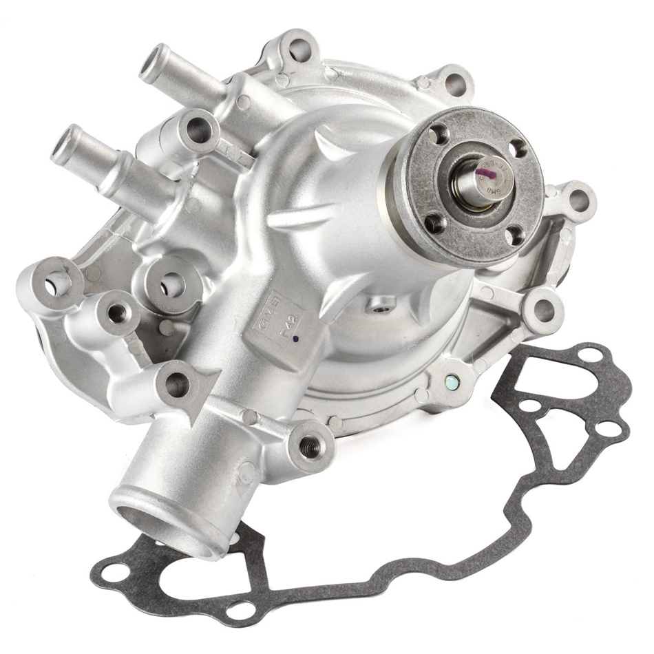 Milodon 16330 Water Pump, Mechanical, 5/8 in Pilot, 1-3/4 in Inlet, Aluminum, Small Block Ford, Each
