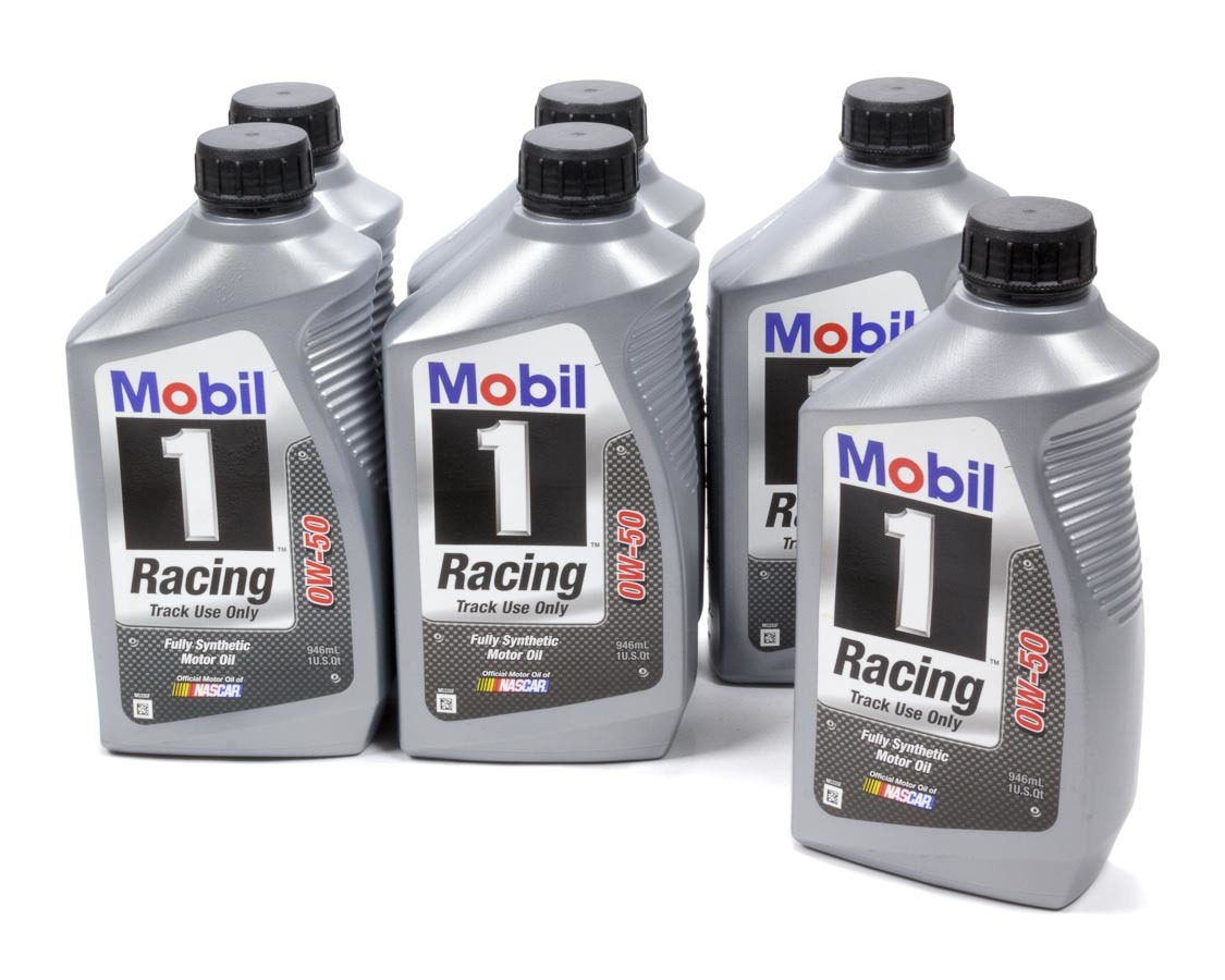0w50 Racing Oil Case 6x1 Qt