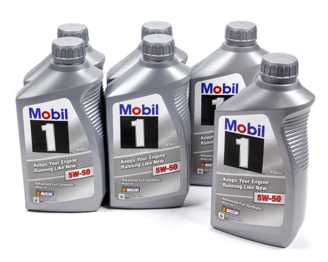 5w50 Synthetic Oil Case 6x1 Qt. FS X2