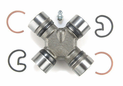 Moog 372 Universal Joint, 1310 to 1344, 1-1/16 in Cap and 1-1/8 in Cap Diameter, Greasable, Steel, Natural, Each