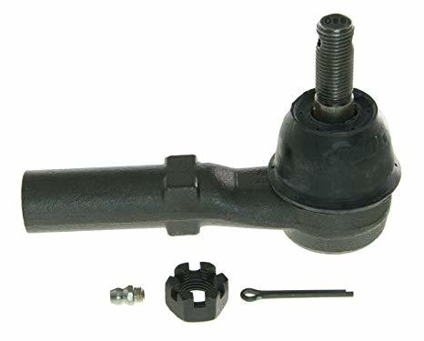 Moog ES3609 Tie Rod End, Outer, Greasable, OE Style, Female, Steel, Black Oxide, GM Fullsize SUV / Truck 2003-14, Each