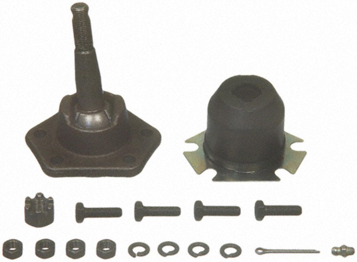 Moog K6136 Ball Joint, Greasable, Upper, Bolt-In, GM Fullsize SUV / Truck / Van 1973-95, Each