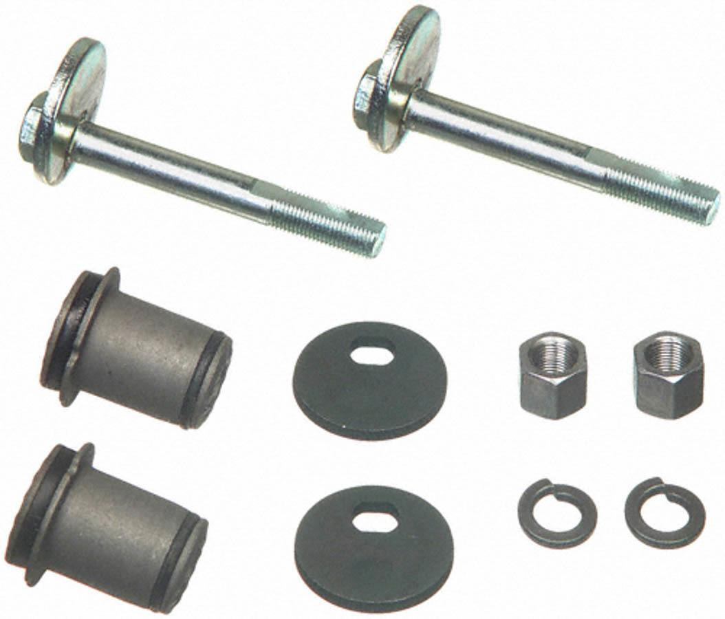 Moog K7030 Control Arm Bushing, Front, Upper, Hardware Included, Rubber / Steel, Black, Mopar A-Body / B-Body / E-Body 1960-76, Each