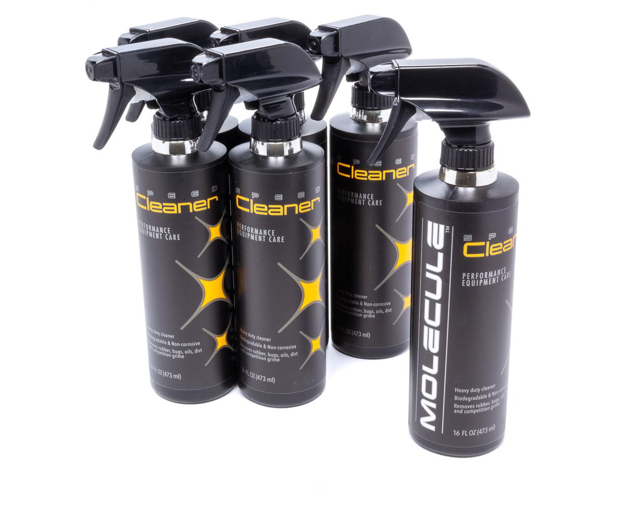 Molecule MLC-16-6 Detailer, Race Car Cleaner, 16 oz Spray Bottle, Set of 6