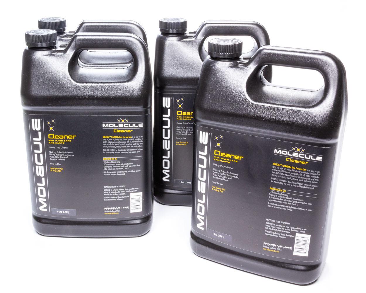 Molecule MLC-1G-4 Detailer, Race Car Cleaner, 1 gal Jug, Set of 4