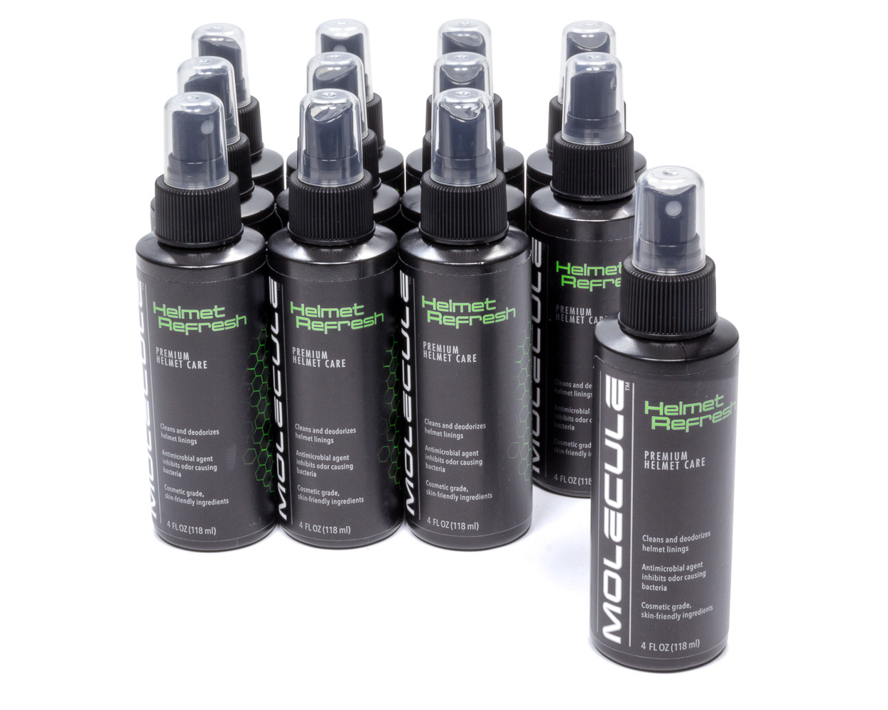 Helmet Fabric Refresher 4oz Spray Case of 12
