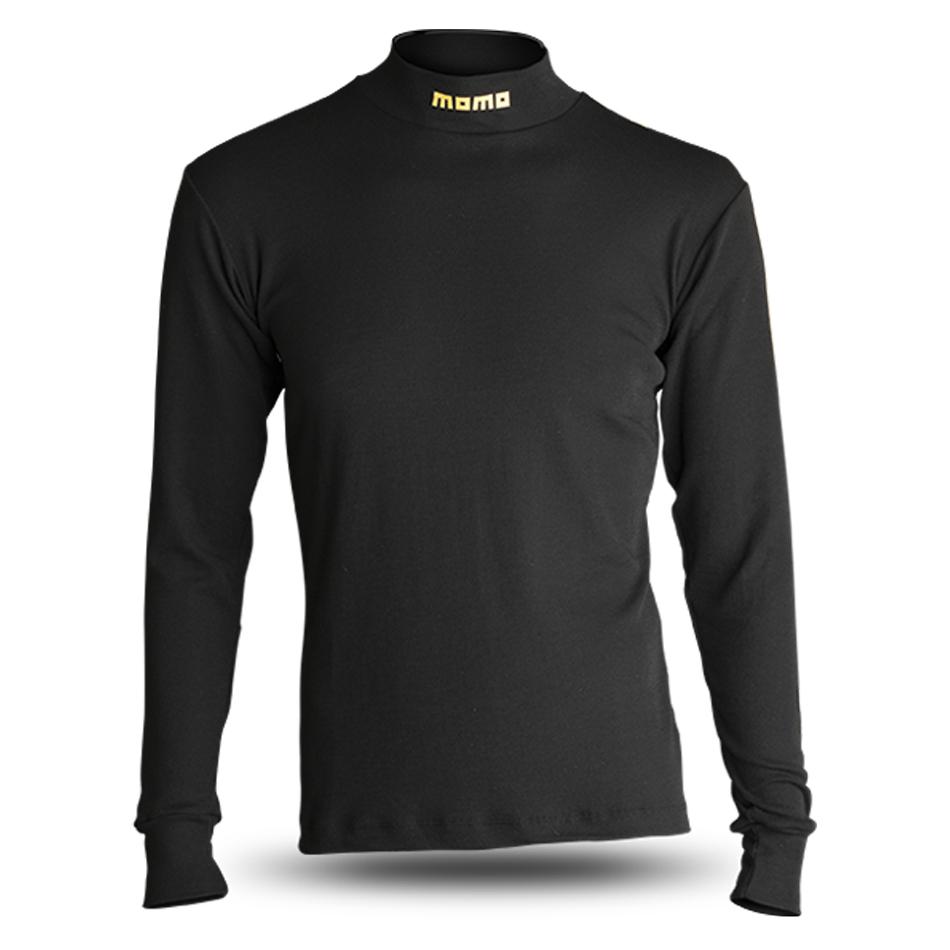 Comfort Tech High Collar Shirt Black XL