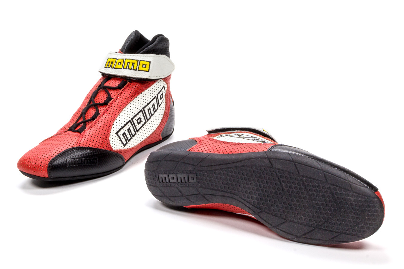 GT PRO Racing Shoes Red 11 Calf Airleather