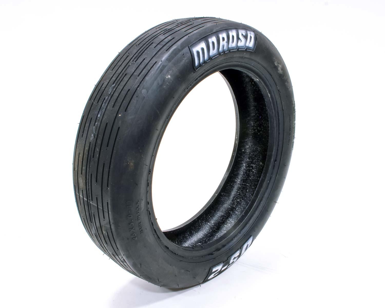 Moroso 17029 Tire, Drag Front, DS2, 26.2 x 5.0-17, Bias Ply, 4 Ply Nylon, White Lettering, Each