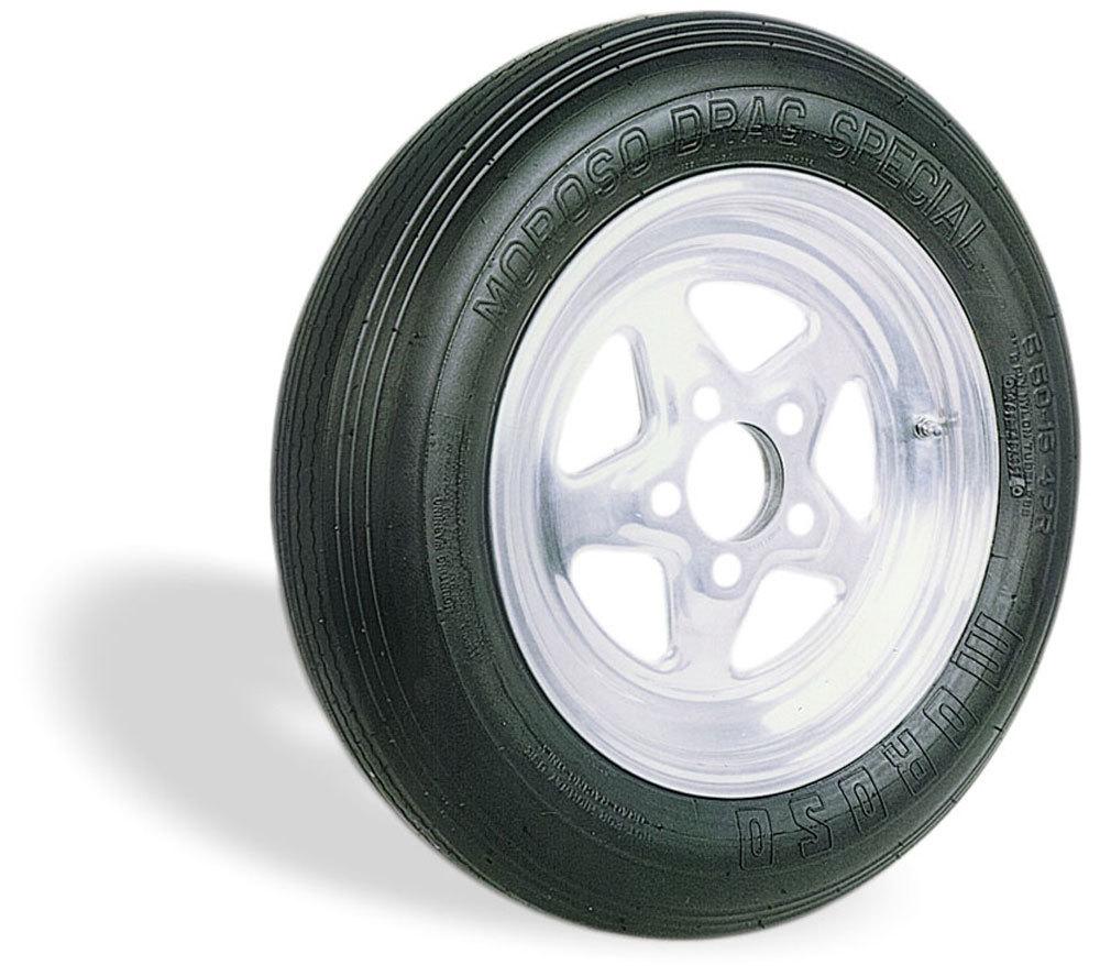 Moroso 17100 Tire, Drag Front, Drag Special, 27.7 x 7.1-15, Bias-Ply, 2 Ply Nylon, Each