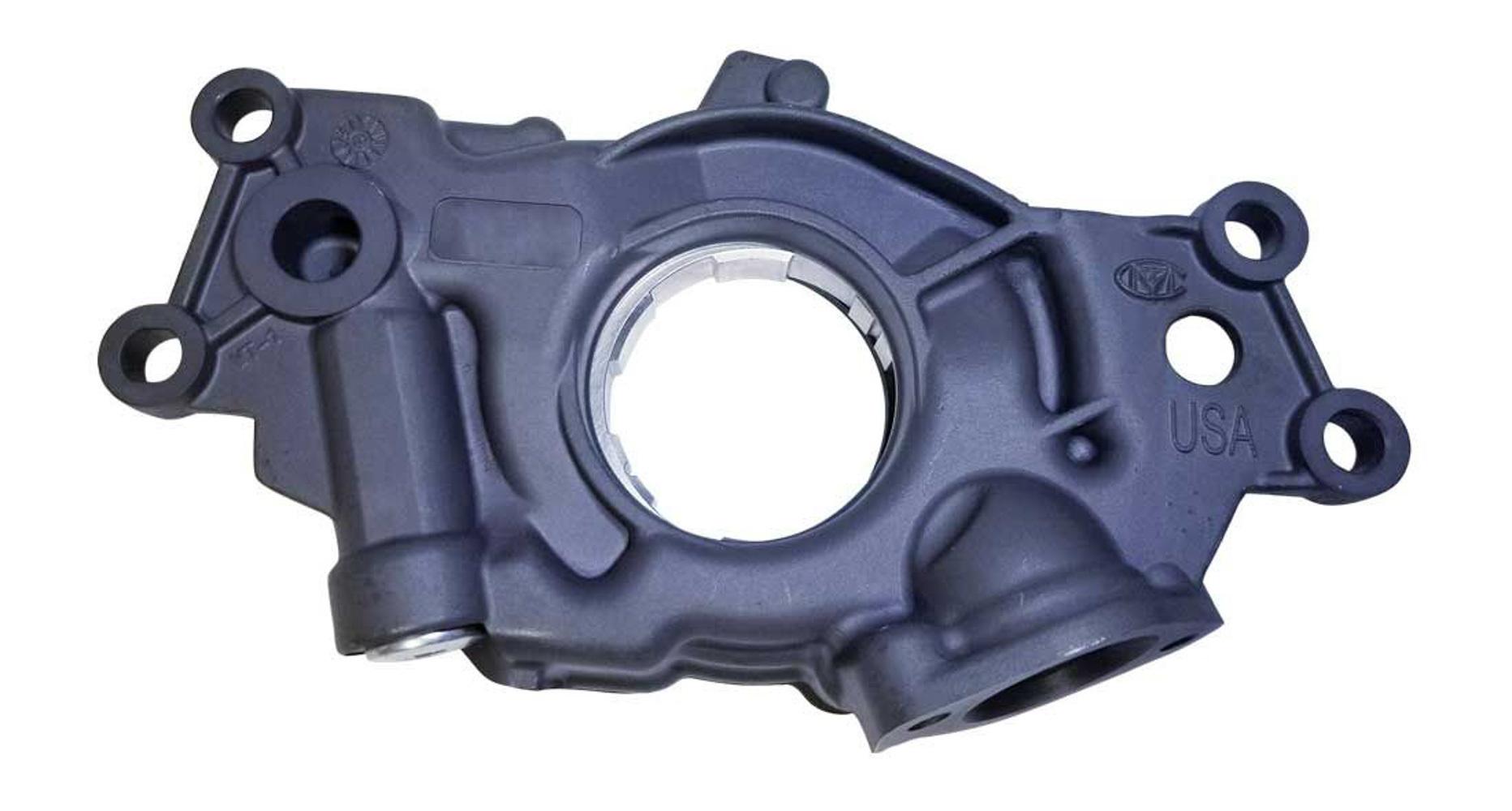 Moroso 22121 Oil Pump, Wet Sump, Internal, High Volume, High Pressure, GM LS-Series, Each