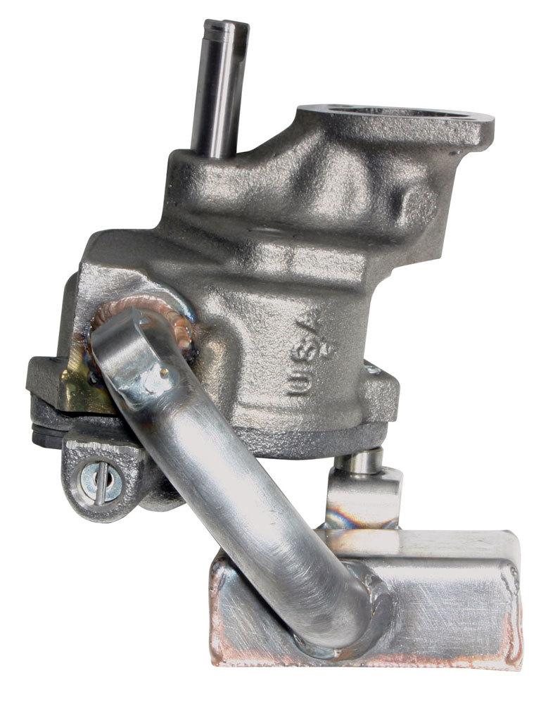 Moroso 22175 Oil Pump, Wet Sump, Internal, Standard Volume, Welded Pickup, Steel, 8 in Deep Pan, Big Block Chevy, Each
