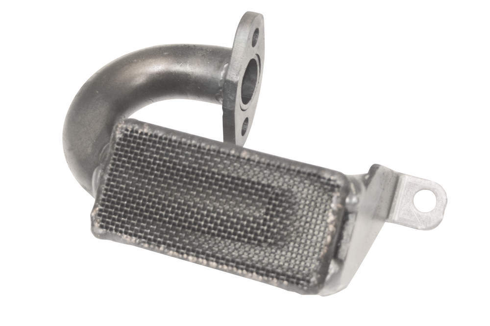 Moroso 24181 Oil Pump Pickup, Street / Strip, Bolt-On, 3/4 in Inlet Tube, 8-1/4 in Deep Pan, Small Block Chevy, Each