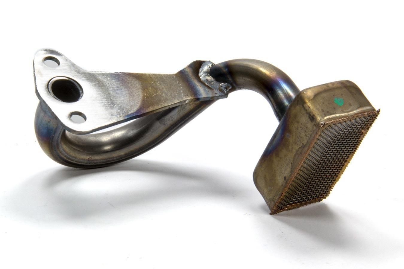Moroso 24523 Oil Pump Pickup, Street / Strip, Bolt-On, 8 in Deep Pan, Street / Strip / Road Race, Small Block Ford, Each