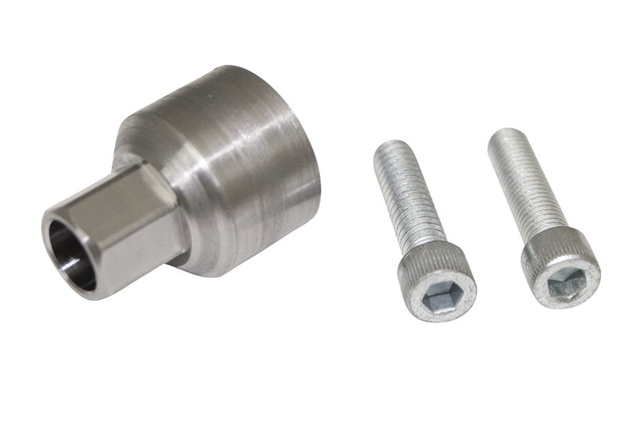 Moroso 62208 Oil Pump Primer, Stainless, Natural, 5/8 in Shaft, Dry Sump Oil Pump, Each
