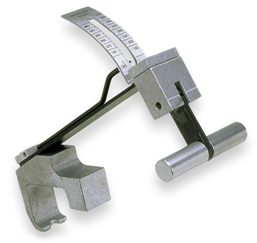 Moroso 62391 Valve Seat Pressure Tester, 160-400 lb Reading Scale, Low Profile Design, Billet Aluminum, Kit