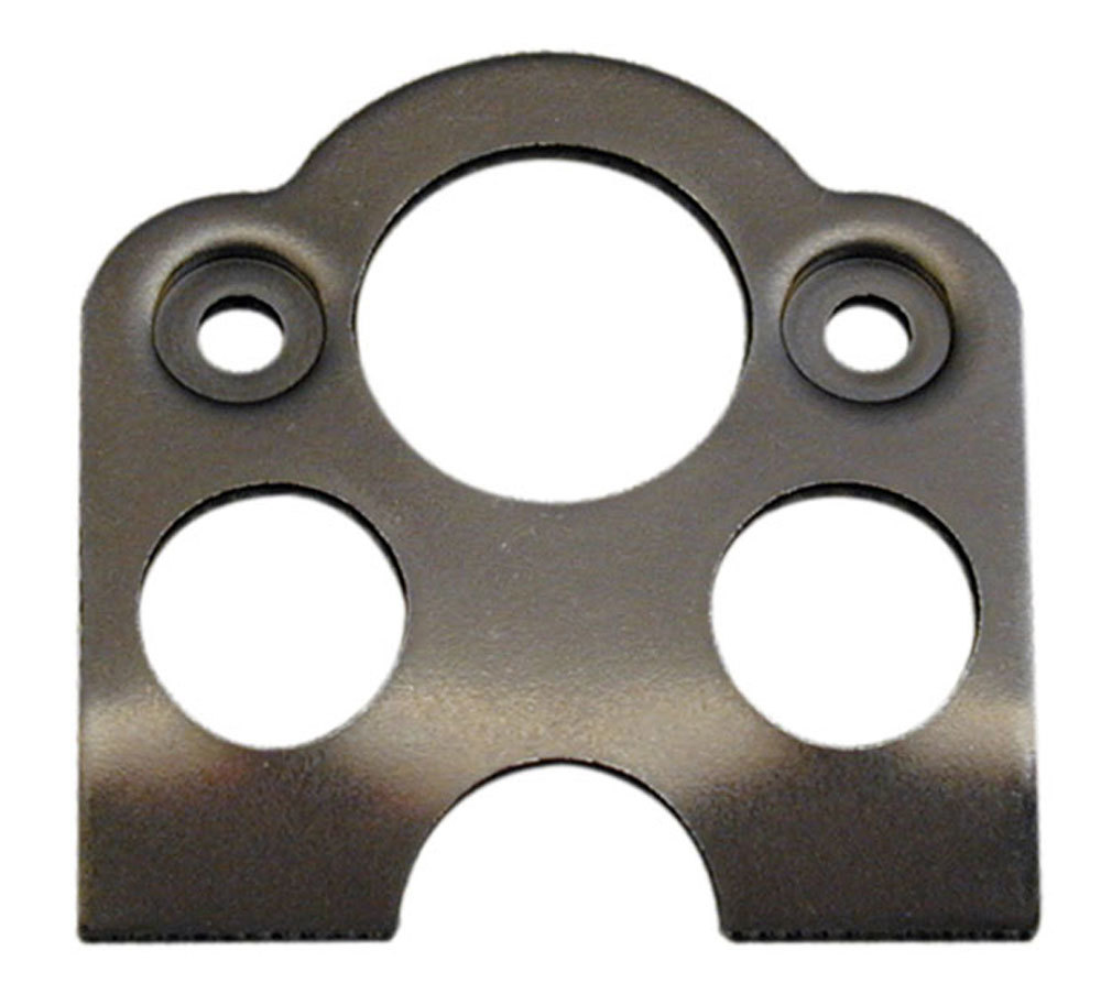 Moroso 71553 Quick Turn Mounting Bracket, Weld-On, 0.059 in Thick, Requires 1 in Spring, 45 Degree Angle, Steel, Natural, Set of 10
