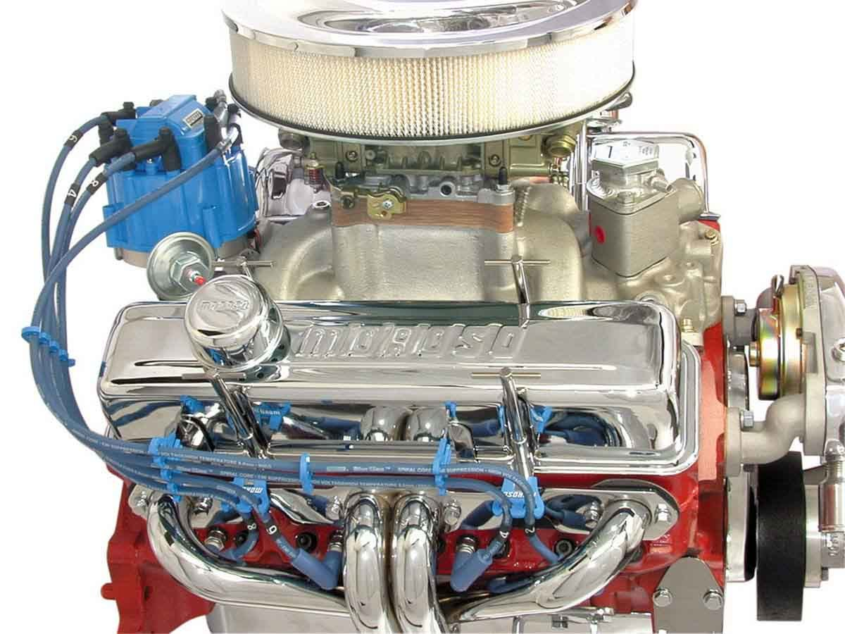 Moroso 72280 Ignition Tune Up Kit, HEI, Cap / Rotor / Coil Cover / Wire Set / Loom Kit Included, Small Block Chevy, Kit