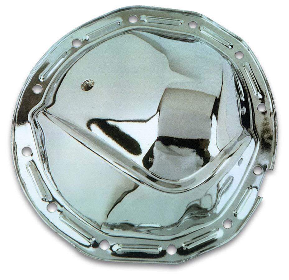 Moroso 85330 Differential Cover, Gasket / Hardware Included, Steel, Chrome, Passenger Car, GM 12-Bolt, Each