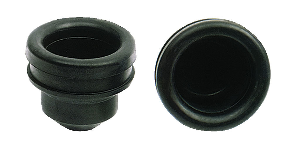 Moroso 97340 Breather Grommet, 1.220 in Hole, Rubber, Pair