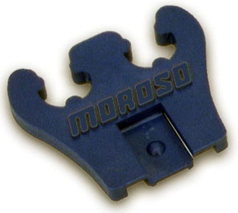Moroso 97830 Spark Plug Wire Loom, 2 Wire, 7-9 mm, Plastic, Blue, Pair