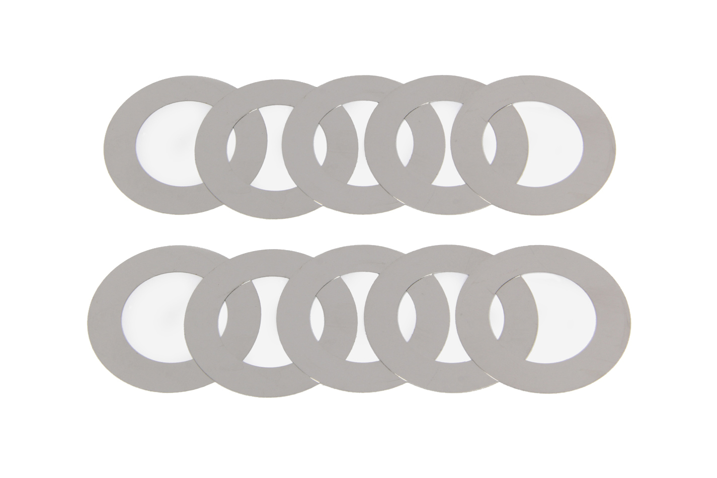 MPD Racing 14205 Spindle Shim, 0.007 in Thick, Steel, Natural, MPD Sprint Car Spindle, Each