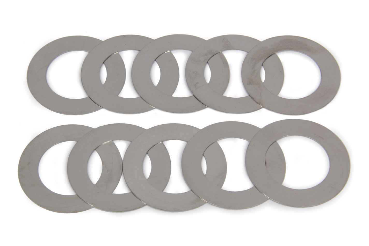 MPD Racing 14207 Spindle Shim, 0.015 in Thick, Steel, Natural, MPD Sprint Car Spindle, Each