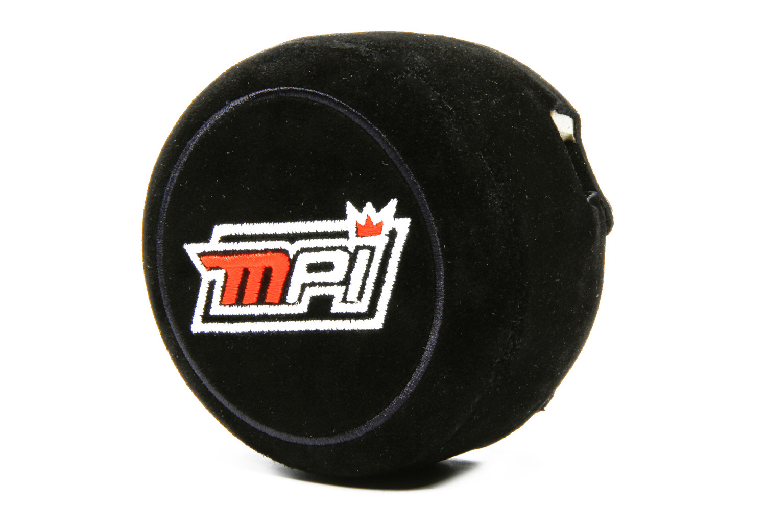 MPI USA MPI-CP-MPLM Steering Wheel Pad, 3 Spoke, 2 in Thick, Wrap Around, Snap-In Attachment, Suede, Black, Each