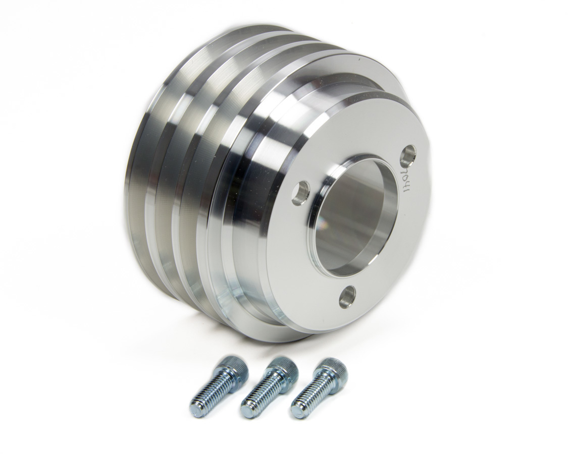 Short Pump for Big Block Chevy SPC Performance 8965 2 Groove Crank Pulley