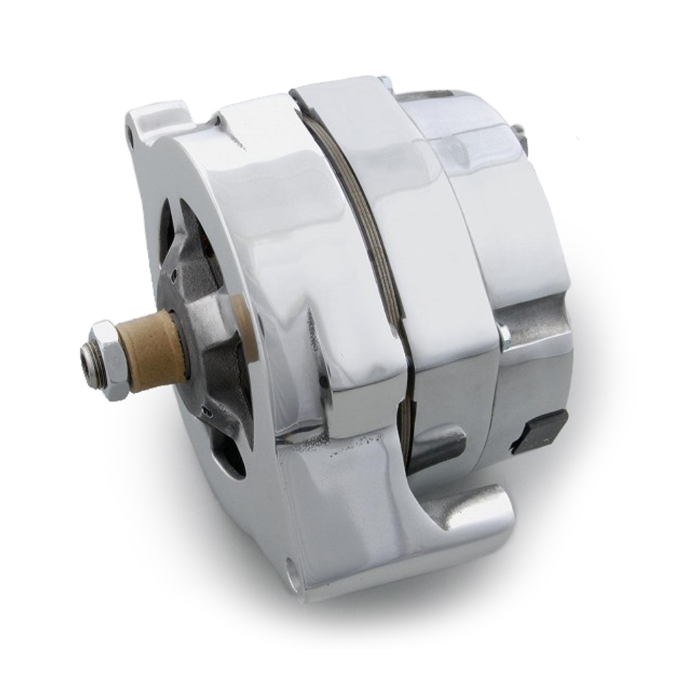 March Performance P560 Alternator Ford 100amp 1 Wire Polished