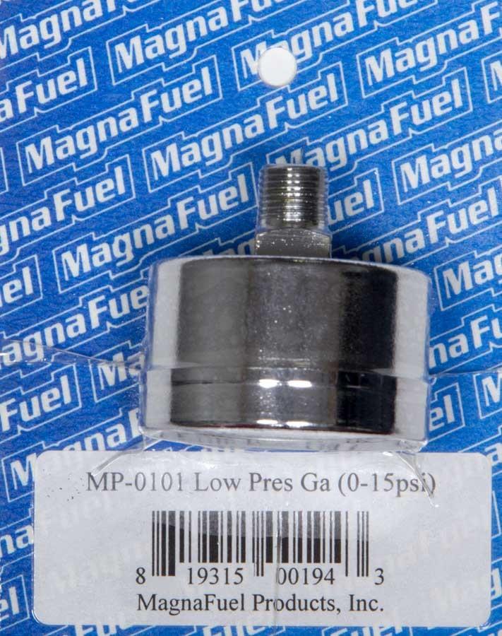 Low Pressure Fuel Gauge 0-15psi