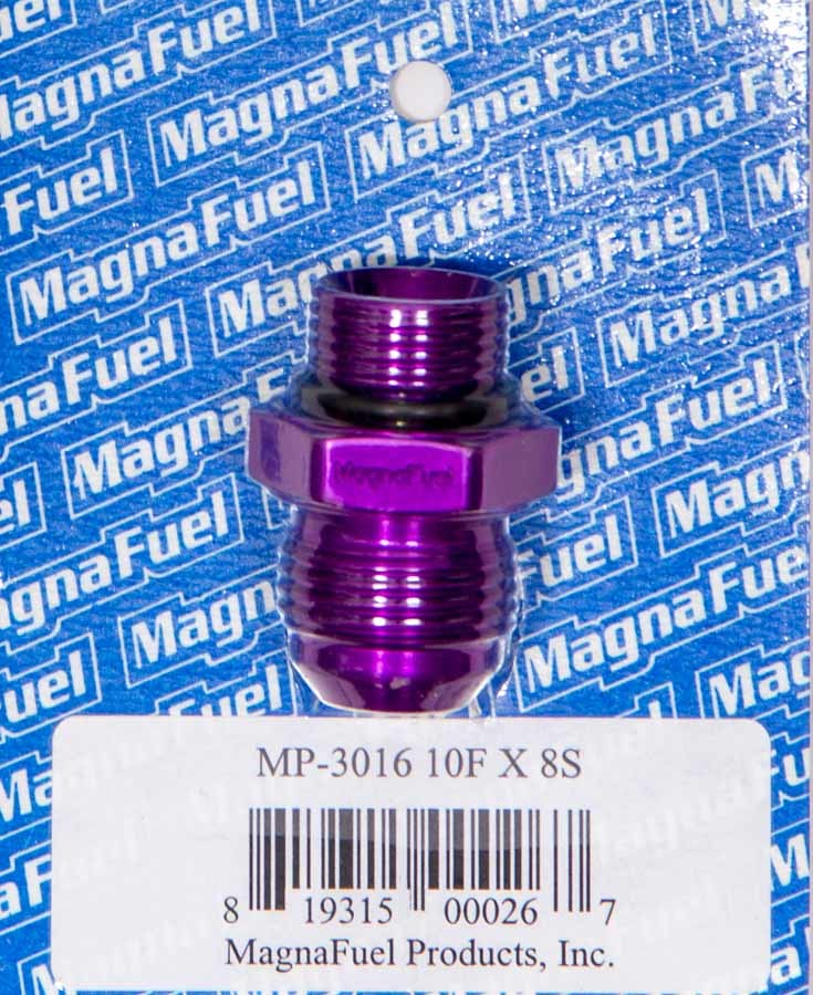 #10 to #8 O-Ring Male Adapter Fitting