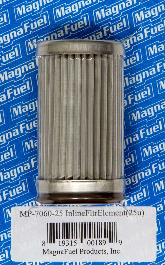Magnafuel MP-7060-74 Fuel Filter Element, 74 Micron, Stainless Element, Magnafuel In-Line Fuel Filters, Each