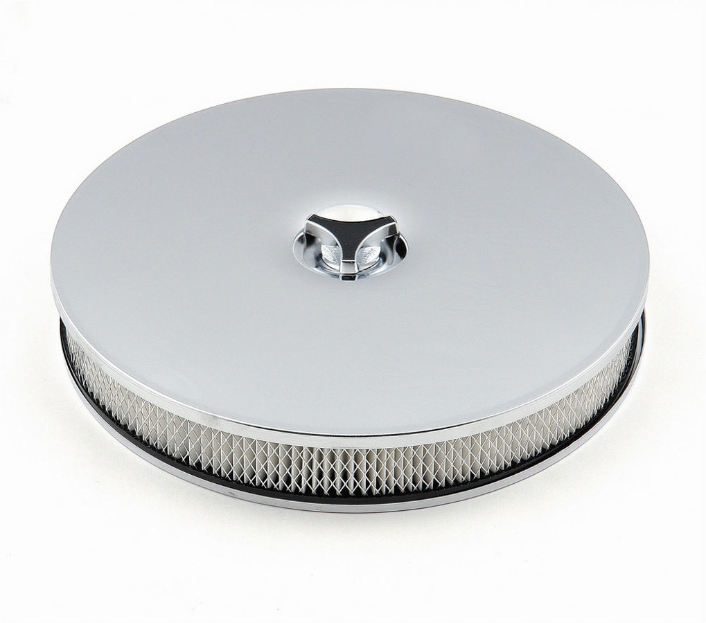 Mr Gasket 14in Chrome Air Cleaner