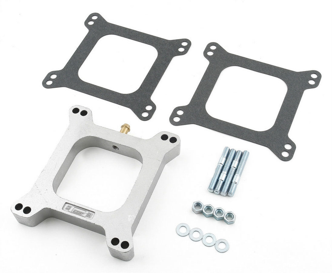Mr Gasket 1in. Carb Spacer W/Pvc Ope
