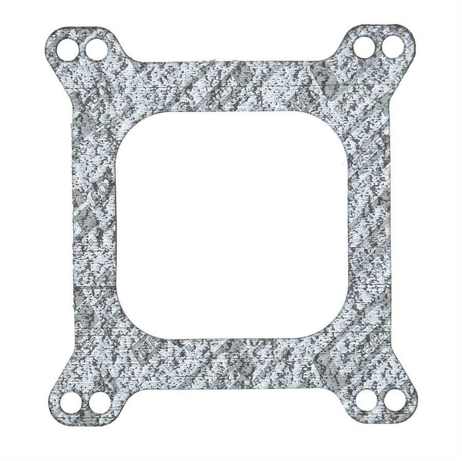 Mr Gasket 54 Carburetor Base Plate Gasket, 4-Barrel, Open, Composite, Square Bore, Each
