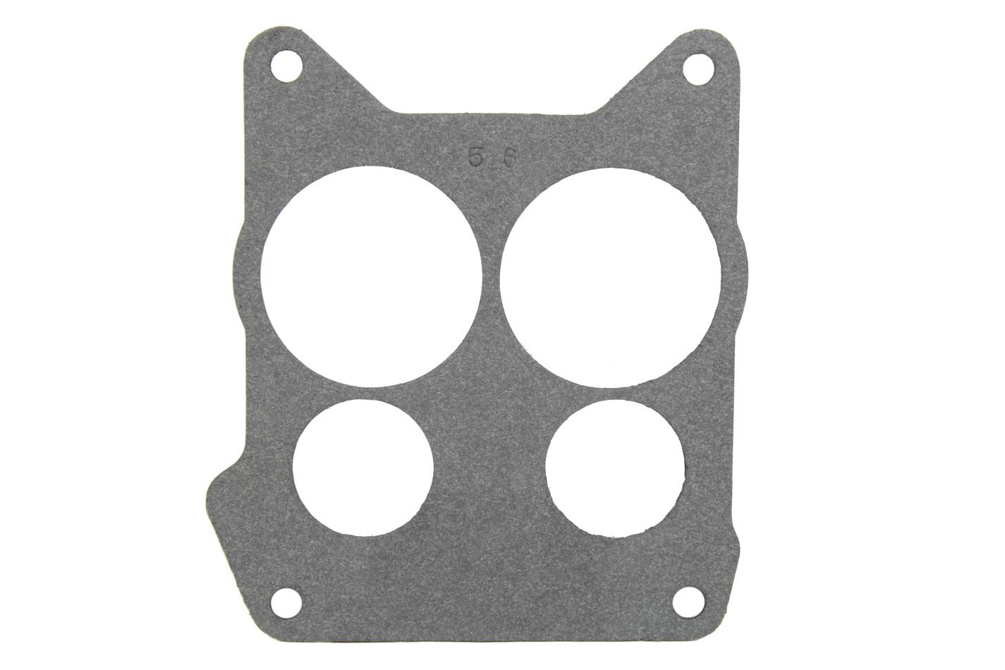 Mr Gasket 56 Carburetor Base Plate Gasket, 4-Barrel, 4 Hole, Composite, Spread Bore, Each